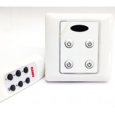 Intrerupator / comutator digital cu telecomanda infrarosu 240V HANDY #HD139-B